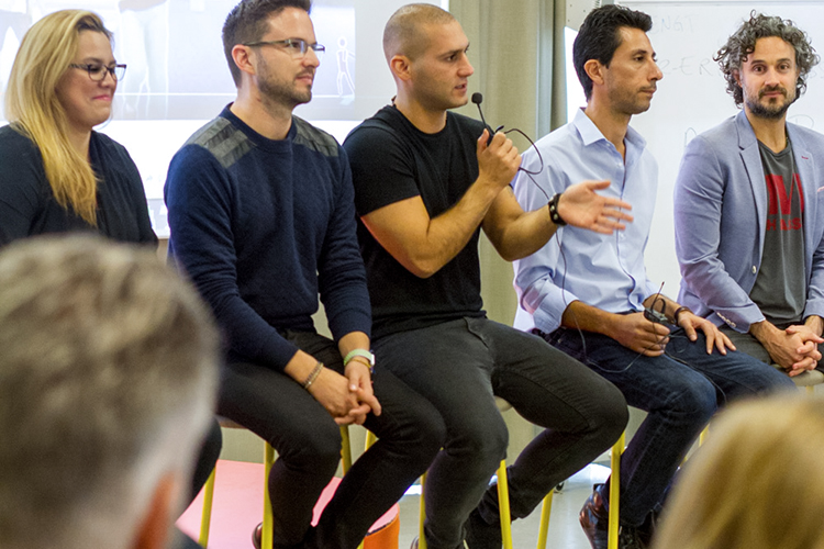 QAA with coaches, entreprenours and speakers