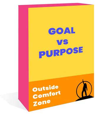 Purpose vs goal oriented